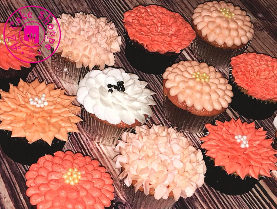 Flower Cupcakes2