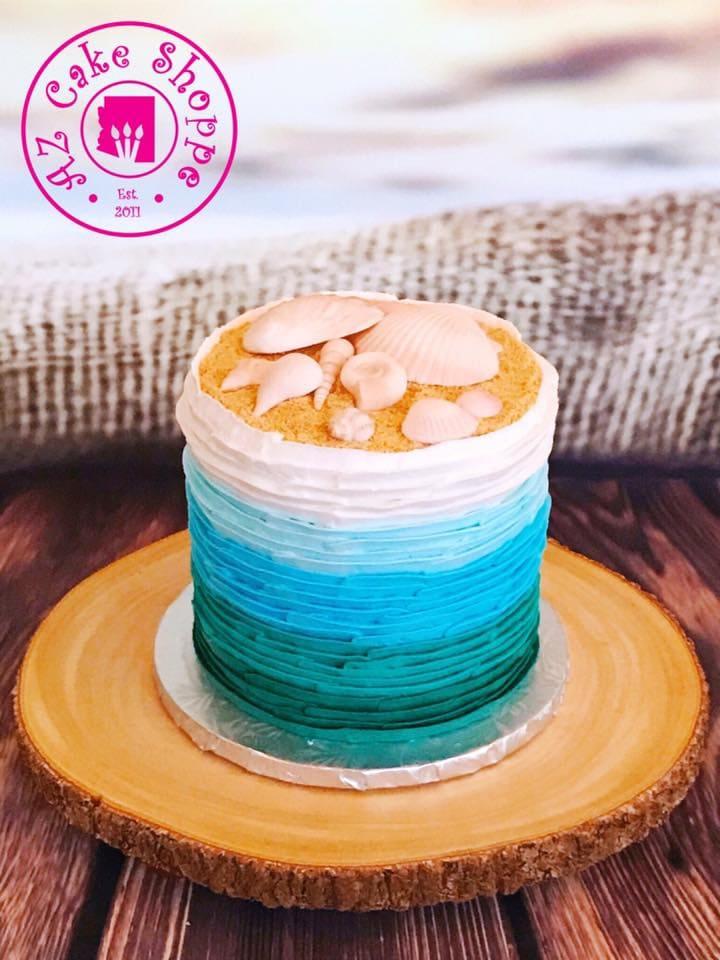 Ombre Seashells